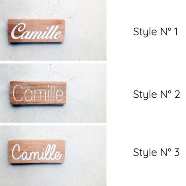 Choisissez le style texte