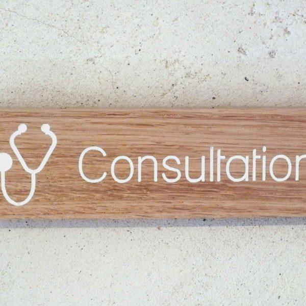 panneau pour cabinet médical consultation