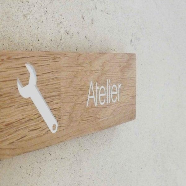 panneau atelier en bois
